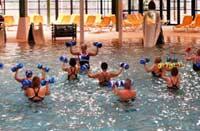 Aquagym à l'Aquaclub de Belle Dune