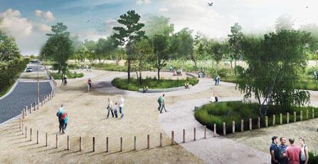 Aménagement Parc du Marquenterre