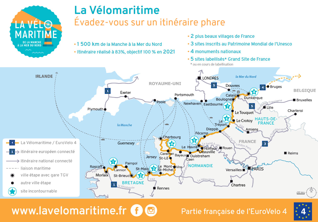 Plan Velo Baie De Somme Syndicat Mixte Baie De Somme
