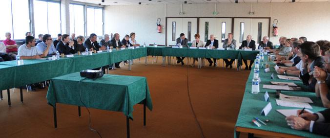 Les élus du Syndicat Mixte Baie de Somme - Grand Littoral Picard