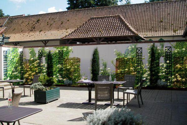Le cap hornu du nouveau pour l 39 h tel et les jardins for Restaurant le jardin du cap
