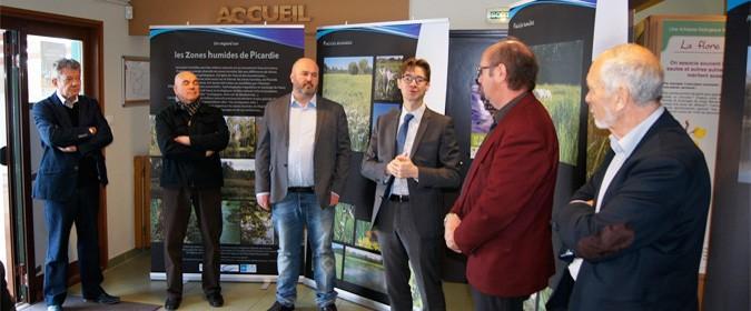 """Exposition """"Un regard sur les zones humides de Picardie"""""""