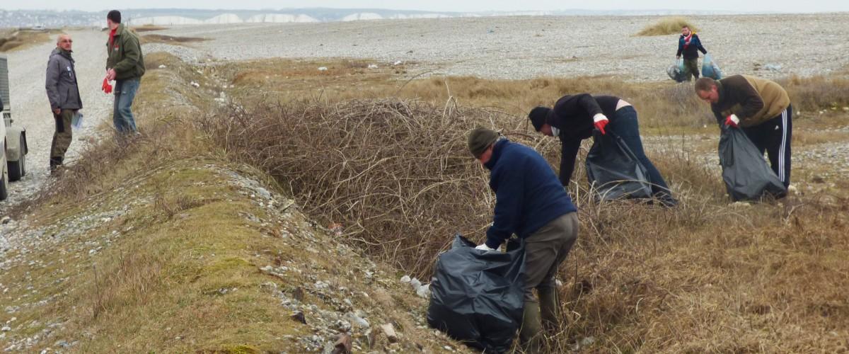 Ensemble , nettoyons la Baie de Somme