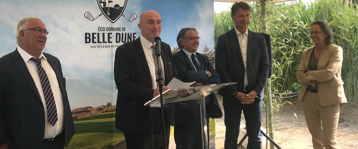Golf de Belle Dune : Inauguration de l'extension du Club House