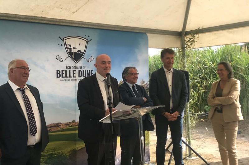 Golf de Belle Dune : Inauguration de l'extension du Club House