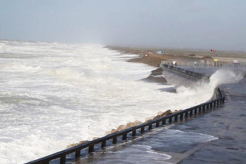 Avis de tempête en Baie de Somme