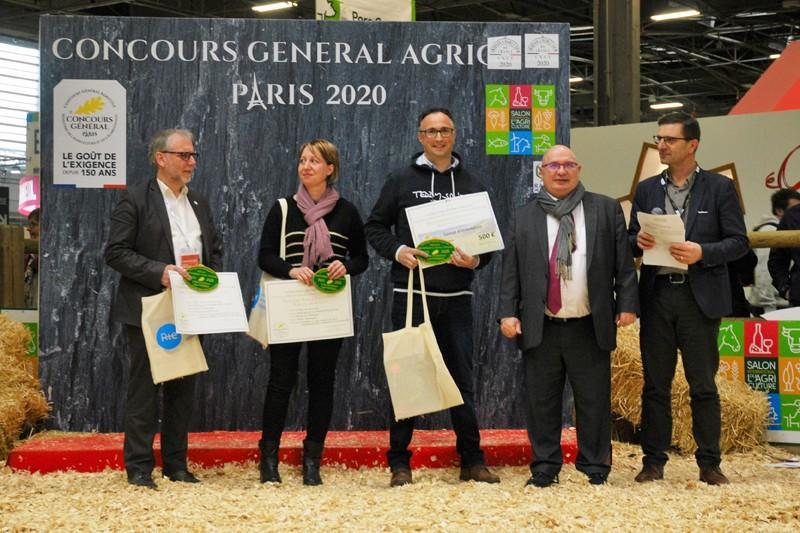 Emmanuel Trouart, 1er prix au salon de l'agriculture