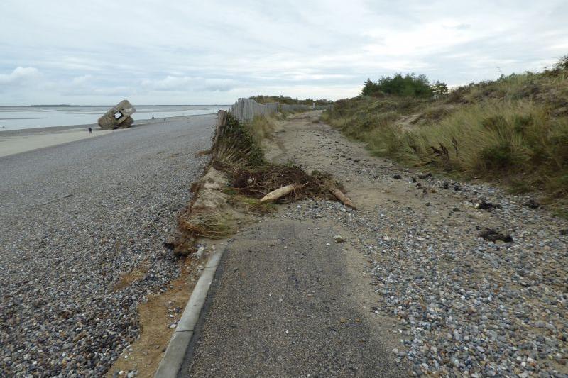 Erosion entrée
