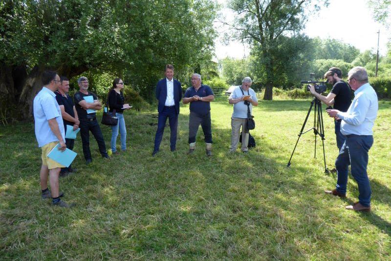 Selection des prairies et annonce des résultats en Baie de Somme