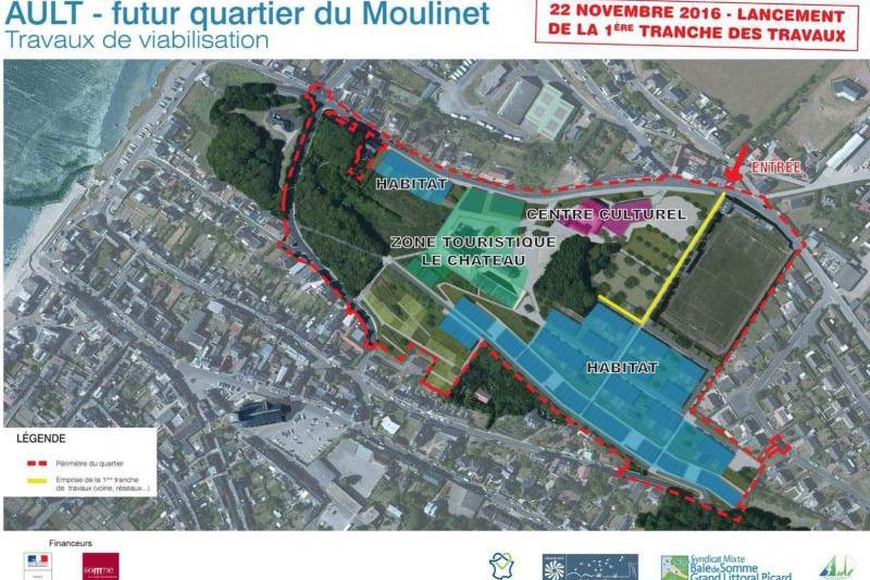 Futur quartier du Moulinet d'Ault