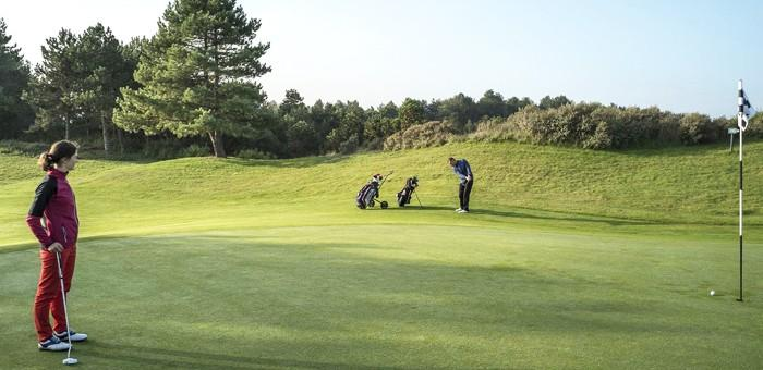 First 9-hole competition