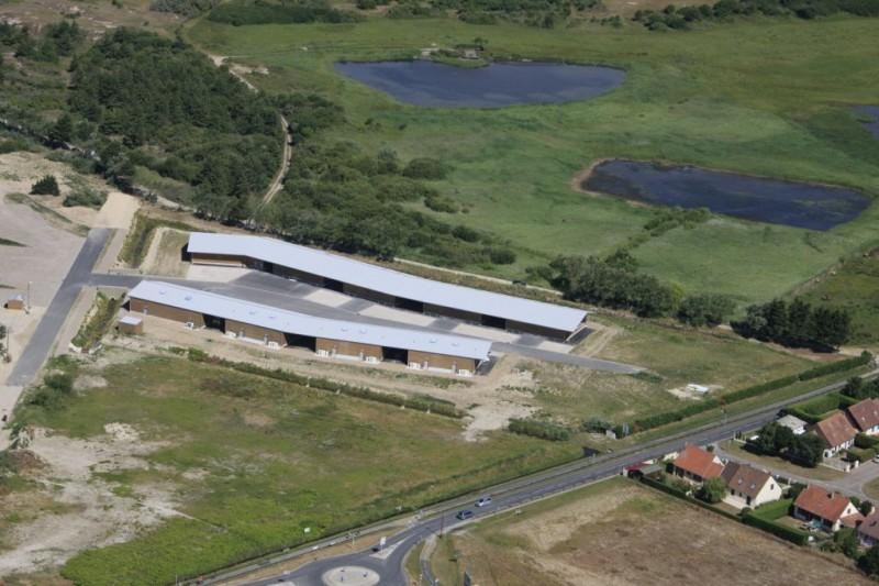 La construction du  centre a permis de professionnaliser la filière conchylicole (moules de bouchot)