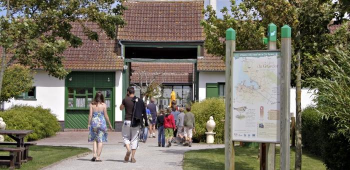 Entrée de la Maison de la Baie de Somme