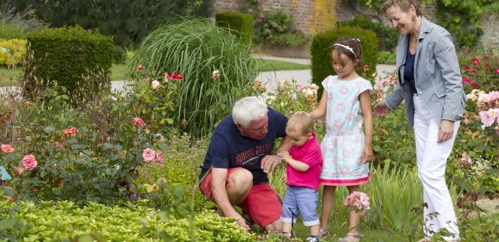Découvrir librement les jardins