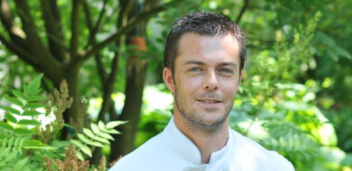 Sébastien Crépy, chef cuisinier à la Table du Jardinier