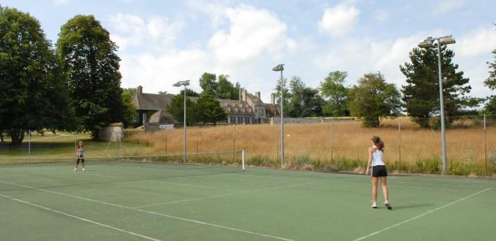 Les terranis de tennis